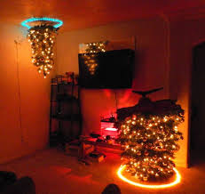 creative christmas tree lights 100 of the most creative diy christmas trees ever creative