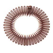 goody bands for teeth 5pcs lot plastic circle stretch comb teeth headband