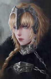 joanne d arc haircut jeanne d arc fate apocrypha not my art but it s bloody