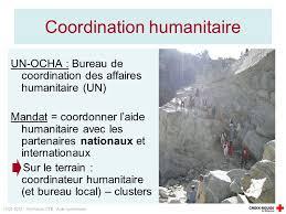 bureau de coordination des affaires humanitaires formation ctb aide humanitaire l aide humanitaire introduction