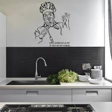 stickers muraux cuisine citation stickers citation chef cuisine des prix 50 moins cher qu en magasin