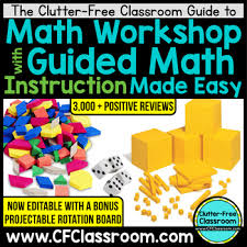 guided math made easy lesson plan template rotation board