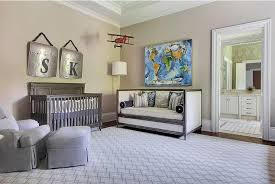 nursery with french daybed traditional nursery