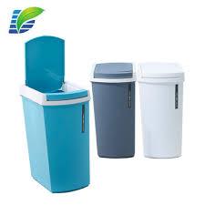 poubelle cuisine rectangulaire mode 9l 11l haute qualité rectangulaire en plastique ménage