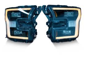 Ford Raptor Headlights - 2015 ford f150 platinum raptor led headlight upgrade kit 2015