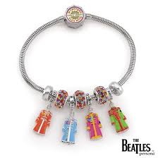 50th anniversary sgt pepper limited edition bracelet with charms