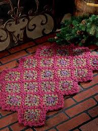Crochet Doormat Crocheted Rugs U0026 Floor Coverings