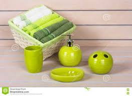 formidable green bathroom accessories about home decor ideas with