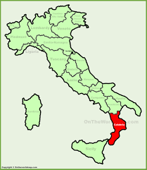Maps Of Italy by Map Of Italy Calabria Deboomfotografie