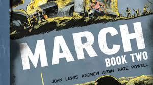 march book two congressman lewis s march book two graphic novel cover revealed