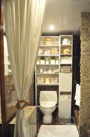 amusing small bathroom storage ideas over toilet above the toilet