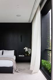 black bedroom ideas in classic design and silver simple 1280 960