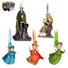 disney store of collection figural ornament set