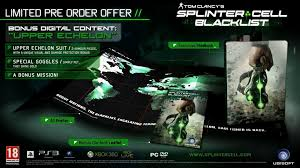 splinter cell blacklist release date leaked pushstartplay