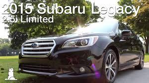 subaru legacy black interior driven 2015 subaru legacy 2 5i limited youtube