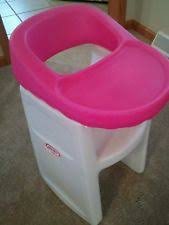 Little Tikes Classic Rocking Chair Pink Little Tikes High Chair Ebay