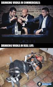 Memes In Real Life - funny drinking vodka in real life meme pics images pictures
