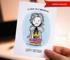 of thrones birthday card happy birthday printable birthday card of