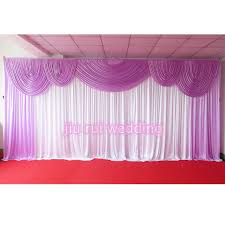 wedding backdrop curtains online shop looking 3m 6m top quality purple wedding backdrop