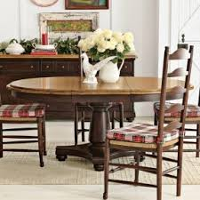 Round Dining Table With Armchairs Round Dining Table For 6 With Leaf Foter
