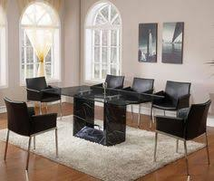 Modern Dining Room Sets Granite Top Dining Table Storage Dining - Granite dining room sets