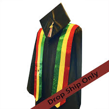 stoles graduation stoles for commencement international rainbow kinte bates