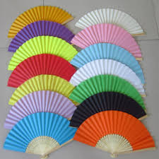 folding fans bulk aliexpress buy summer paper fans pocket folding