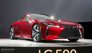 lexus two door sports car price the lexus lc could get f version with twin turbo v8 autoevolution