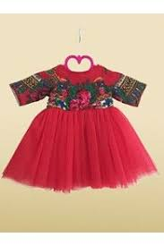rochie etno set rochii fiica etno din bumbca cu motive etno si tulle