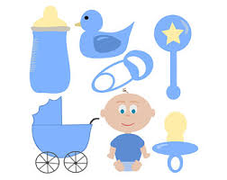 Baby Shower Clip Art Free - baby boy shower clipart clipart collection baby boy royalty