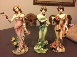 home interior figurines find more home interiors homco autumn summer blossom