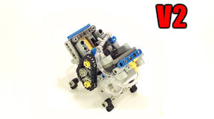 super small v2 lego pneumatic engine big cylinder youtube