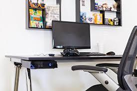 desks for gaming consoles hideit alien alienware game console mount vesa wall mount