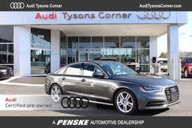 audi tysons corner service used audi a6 at tysons penske automotive dc serving washington dc va