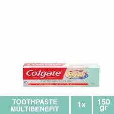 Pasta Gigi Colgate colgate total professional clean gel toothpaste pasta gigi 150g