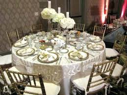 table linen rentals silver metallic table linens wedding bat
