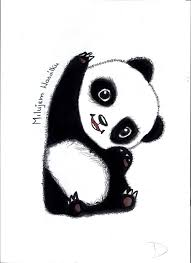 images of cute panda drawings wallpaper sc