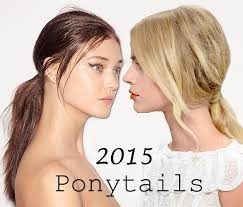 hair style for spring 2015 spring summer 2015 trendy ponytail hairstyles fashionisers