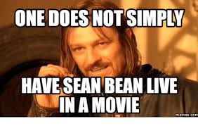 One Does Simply Meme - 25 best memes about sean bean one does not simply sean bean