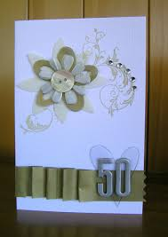 25th Wedding Anniversary Invitation Cards For Parents 50th Anniversary Card Fiskars Craft