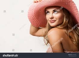 close beautiful young woman portrait stock photo 254147602