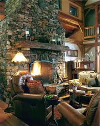 fireplaces mountain construction
