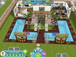 alec lightwood u0027s two storey two pool house the entrance sims