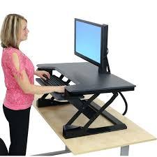 sit and stand desk platform brilliant standing desk platform for loctek store lx36 wide height