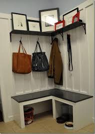 Corner Entryway Storage Best 25 Corner Storage Bench Ideas On Pinterest Corner Bench