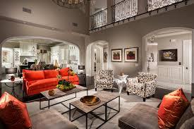 Orange Sofa Living Room Ideas Extraordinary Orange Sofa Decorating Ideas For Living Room