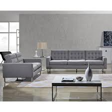 furniture dark grey modern tufted sofa with wooden frame for modern sofa and loveseat set grey elegant design for living room modern interior design
