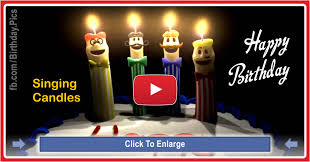 singing happy birthday singing candles happy birthday song for you happy birthday