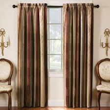Green Bay Packers Window Curtains 2 Pack Tuscan Stripe Blackout Window Curtains