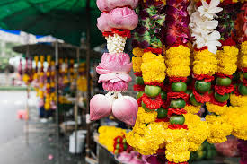 hindu garland thai flower garland pictures images and stock photos istock